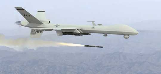 US forces bomb Sakow district