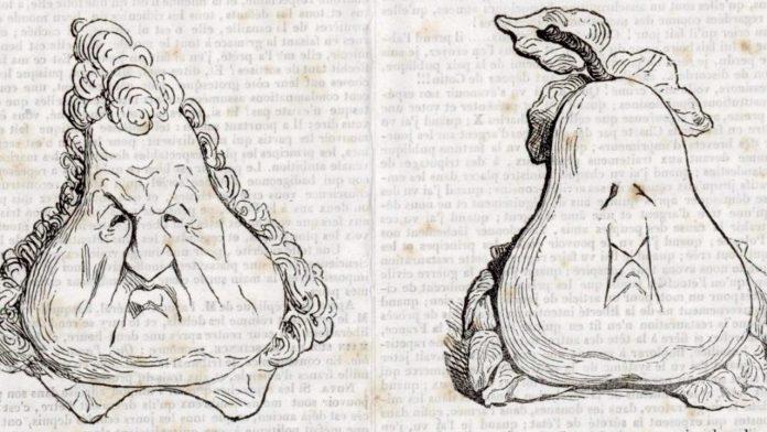 Les_Poires_Honore_Daumier_1831