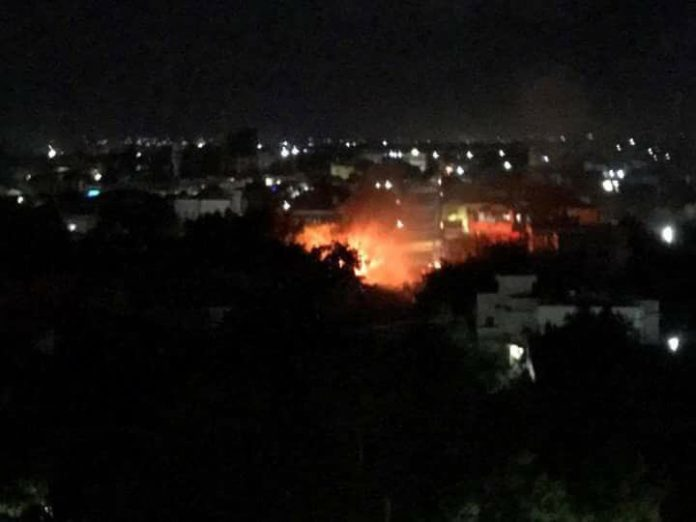 Details: Suicide bomber kills several youths in Mogadishu tonight