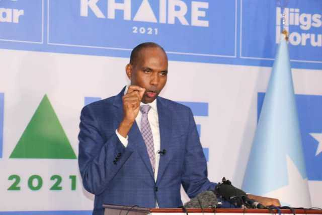 Candidate Hassan Ali Kheyre warns of disagreement over elections