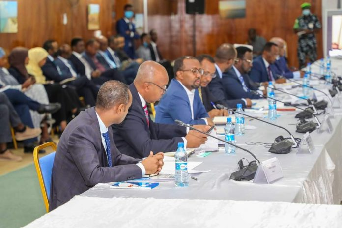 Security and justice committe Mogadishu 1 dec 2020