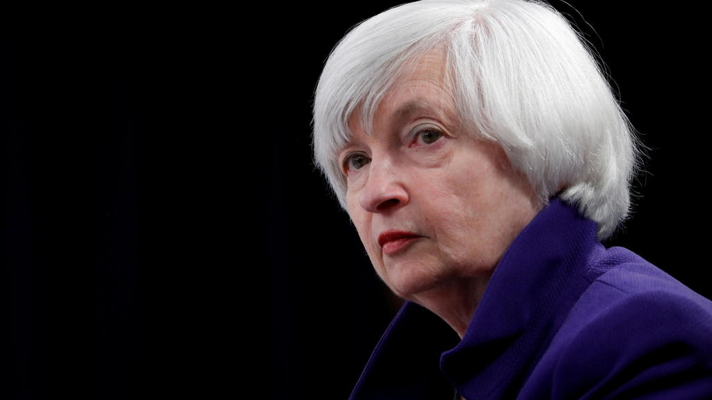 us senate confirms former fed chairman janet yellen as the first woman to head the us treasury department