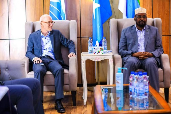 What did James Swan and Ahmed Madobe discuss?