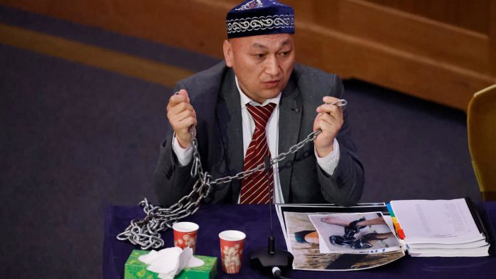 China's oppression of Uyghurs is 'crime against humanity', says Amnestyty