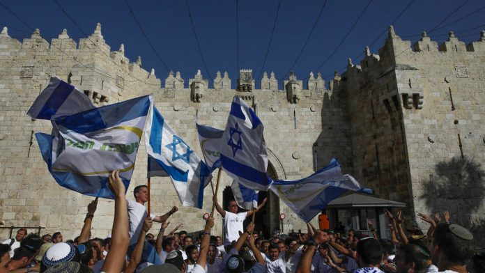 Israeli Nationalists March in East Jerusalem as Palestinians Call for 'Day of Rage' in Response