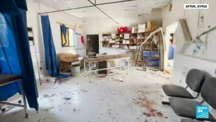 Calls for investigation after destruction of Syrian hospital in deadly grenade attack