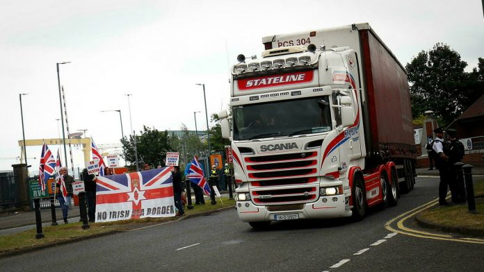 Post-Brexit trade deal for Northern Ireland is 'unsustainable'