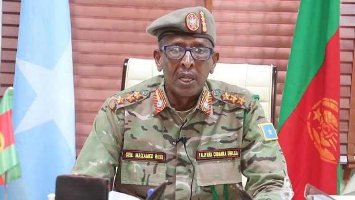 Land Force Commander General Bihi Survives Landmine Explosion