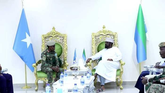 General Odowa welcomed in Kismayo
